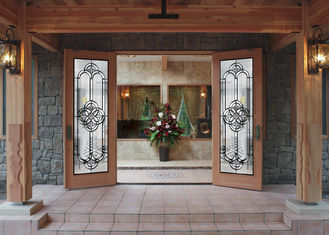 Pearly L Art Glass Panels Thermal Sound Insulation Handcrafted Vogue Timeless Design